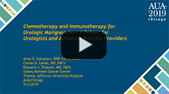 023IC - Chemotherapy and Immunotherapy Options for Genitourinary Malignancies: A Primer for Urologists and Advanced Practice Providers